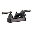 Design House 525584 Barcelona 4-Inch Lavatory Faucet, Brushed Bronze Finish
