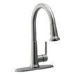 Design House 525717 Geneva Kitchen Faucet with Pullout Sprayer