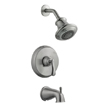 Design House 525782 Madison Tub and Shower Faucet, Satin Nickel Finish