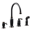 Design House Madison Kitchen Faucet with Sprayer and Soap Dispenser - 525790