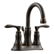 Design House 525832 Madison 4-Inch Lavatory Faucet, Oil Rubbed Bronze Finish