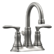 Design House 525840 Madison 4-Inch Lavatory Faucet, Satin Nickel Finish