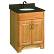 Design House 530386 Richland Nutmeg Oak Vanity Cabinet with 2-Doors, 24in x 21in