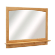 Design House 530543 Richland Nutmeg Oak 38-Inch Mirror with Shelf