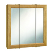 Design House Richland Tri-View Medicine Cabinet Mirror  - 530584