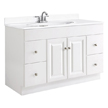 Design House Wyndham Vanity Cabinet with 2-Doors and 4-Drawers - 531145
