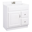 Design House Concord Vanity Cabinet with 1-Door and 2-Drawers - 531269