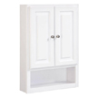 Design House Concord Wall Bathroom Cabinet with 2-Doors and 1-Shelf - 531319