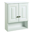 Design House Wyndham Bathroom Wall Cabinet with 2-Doors and 1-Shelf, - 531715