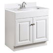 Design House 531749 Semi-Gloss Vanity Cabinet with 2-Doors, 30in x 18in x 31.5in