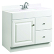 Design House Wyndham Vanity Cabinet with 1-Door and 2-Drawers - 531954