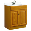 Design House 531988 Honey Vanity Cabinet with 2-Doors, 24in x 18.5in x 31.5in