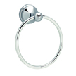 Design House 532895 Allante Towel Ring, Polished Chrome Finish