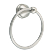 Design House 532978 Allante Towel Ring, Satin Nickel Finish