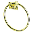 Design House 533349 Millbridge Towel Ring, Polished Brass Finish