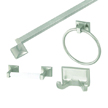 Design House 534644 Millbridge 4-Piece Bathroom Kit, Satin Nickel Finish