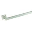Design House 539148 Millbridge 24-Inch Towel Bar, Satin Nickel Finish