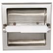 Design House Millbridge Recessed Toilet Paper Holder, Satin Nickel Finish - 539189