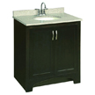 Design House 539593 Ventura Espresso Vanity Cabinet with 2-Doors, 30in x 33.5in