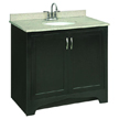 Design House 539601 Ventura Espresso Vanity Cabinet with 2-Doors, 36in x 33.5in