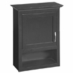 Design House 539643 Ventura Espresso Wall Cabinet with 1-Door, 23.1in x 30in