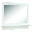 Design House 539940 Concord White Gloss Mirror with Shelf, 37.8in x 4in x 31in