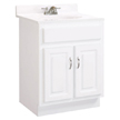 Design House 541029 Concord Vanity Cabinet with 2-Doors, 24in x 21in x 30in