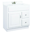 Design House Concord Vanity Cabinet with 1-Door and 2-Drawers - 541037
