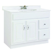 Design House Concord Vanity Cabinet with 2-Doors and 2-Drawers - 541052