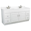 Design House Concord Vanity Cabinet with 2-Doors and 4-Drawer - 541078