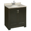 Design House 541250 Ventura Espresso Vanity Cabinet with 2-Doors, 30in x 21in