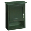 Design House Ventura Bathroom Wall Cabinet with 1-Door and 1-Shelf - 541318