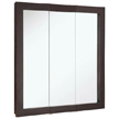 Design House 541342 Ventura Tri-View Medicine Cabinet Mirror, 30in x 30in