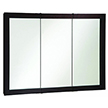 Design House 541367 Ventura Tri-View Medicine Cabinet Mirror, 48in x 30in