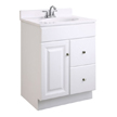 Design House Wyndham Vanity Cabinet with 1-Door and 2-Drawers, - 545004