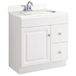 Design House Wyndham Vanity Cabinet with 1-Door and 2-Drawers - 545061