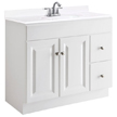 Design House Wyndham Vanity Cabinet with 2-Doors and 2-Drawers - 545095