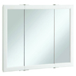Design House Wyndham Tri-View Medicine Cabinet Mirror  - 545103
