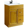 Design House Honey Vanity Cabinet with 1-Door and 2-Drawers - 545137