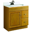 Design House Honey Vanity Cabinet with 1-Door and 2-Drawers - 545152