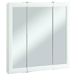 Design House Wyndham Tri-View Medicine Cabinet Mirror  - 545293