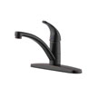 Design House 545608 Trenton Single Lever Kitchen Faucet, Oil Rubbed Bronze