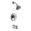 Design House 545772 Middleton Tub Shower Faucet, Polished Chrome