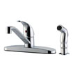 Design House 545863 Middleton Kitchen Faucet with Side Sprayer, Polished Chrome