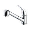 Design House 545889 Milano Kitchen Pullout Faucet, Polished Chrome