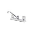 Design House 545988 Millbridge Dual Handle Kitchen Faucet, Polished Chrome