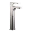 Design House 546754 Lyss Vessell Lavatory Faucet, Satin Nickel