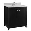 Design House Furniture-Style Vanity Cabinet, 30-In by 21-In, Espresso - 547000