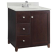 Design House Furniture-Style Vanity Cabinet, 36-In by 21-In, Espresso - 547026