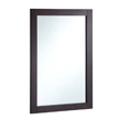 Design House 20-inch by 30-inch Vanity Mirror, Espresso - 547075